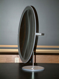 Difference between concave mirror and convex mirror for Concave mirror